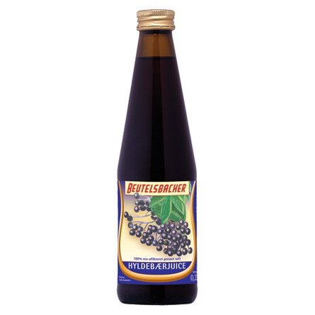 Hyldebærjuice Ø Beutelsbacher 330 ml