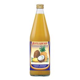 Kokos Ananas saft Ø Beutelsbacher 750 ml