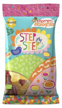 Vingummi syrlig Step by Step Ø 80 g