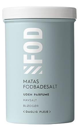 Matas Striber Fodbadesalt Daglig Pleje uden parfume 400 g