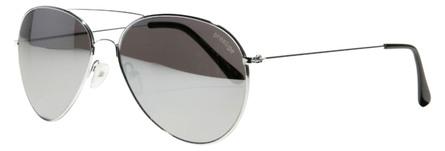 Prestige Solbrille Sølv Metal