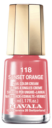 Mavala Mini Color Neglelak 118 Sunset Orange
