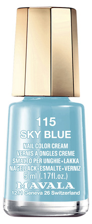 Mavala Mini Color Neglelak 115 Sky Blue