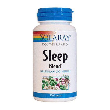 Solaray Sleep Blend 100 kaps.