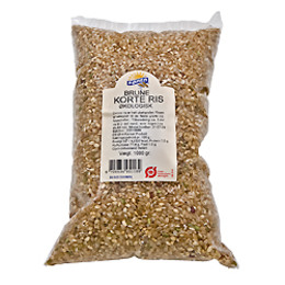Ris korte brune Ø 1 kg