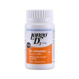 D3 -vitamin Longo 180 tab