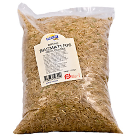 Ris brune basmati Ø 1 kg