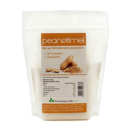 Sukrin Peanutmel, 250 gr.