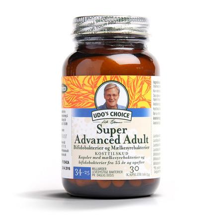 Udo's Choice Super Advanced Adult 55+ 30 kap