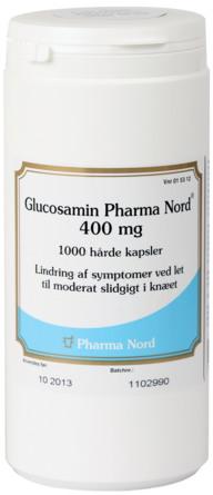 Pharma Nord Glucosamin 400 mg 1000 kapsler