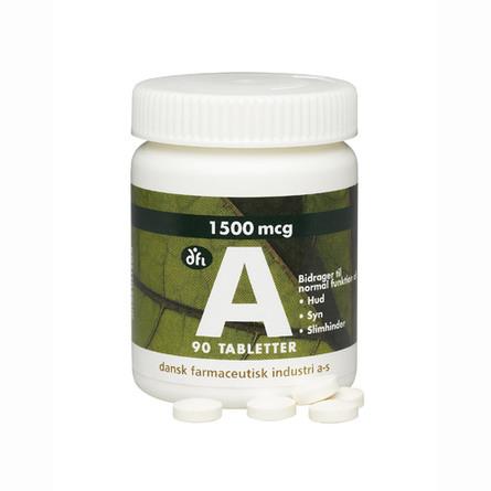 A-vitamin 1500 mcg, 5000 ie 90 tab