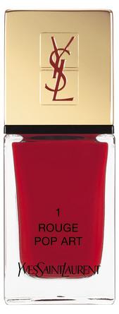 Yves Saint Laurent La Laque Couture Rouge Pop Art 1