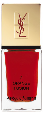 Yves Saint Laurent La Laque Couture 2 Orange Fusion