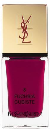 Yves Saint Laurent La Laque Couture Fuchsia Cubiste 8