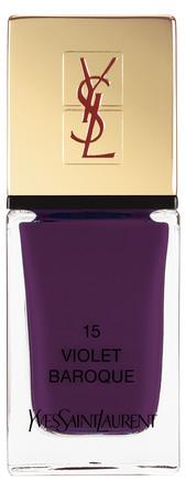 Yves Saint Laurent La Laque Couture Violet Baroque 15