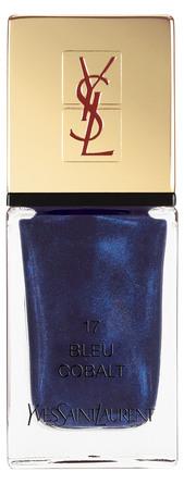 Yves Saint Laurent La Laque Couture Bleu Cobalt 17