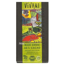 Vivani Chokolade 40% Rice chock vegan Øko
