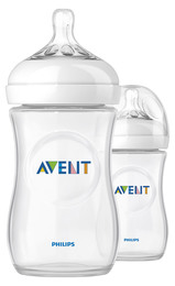 Philips Avent Sutteflaske Natural 260 ml Slow 2 stk.