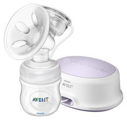 Philips Avent Brystpumpe Natural elektrisk m. 125 ml flaske