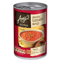 Amy's Kitchen Tomatsuppe m. tomat stykker Ø