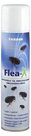 Tanaco Insektbekæmpelse Flea-X Loppespray 400 ml