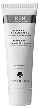 REN Clean Skincare Flash Rinse 1 Minute Facial 75 ml