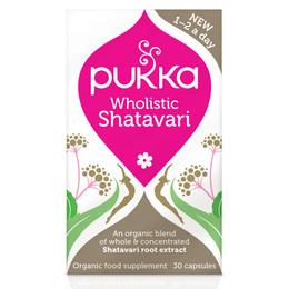 Shatavari til kvinder Ø Pukka 30 kap