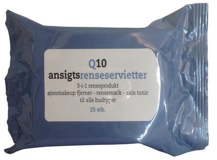 Allison Ansigtsrenseservietter Q10 25 stk.