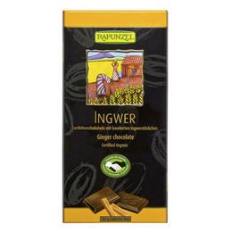 Chokolade m. ingefær Ø 80 g