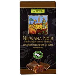 Chokolade mørk m. praline Ø 100 g