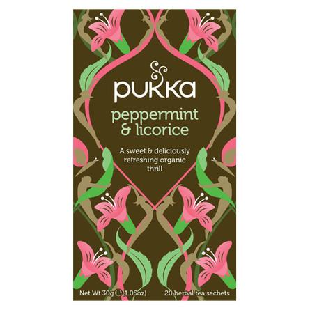 Pukka Peppermint & Licorice te Ø 20 breve