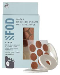Matas Striber Hård Hud Plaster Med Latexringe 6 + 9 stk.