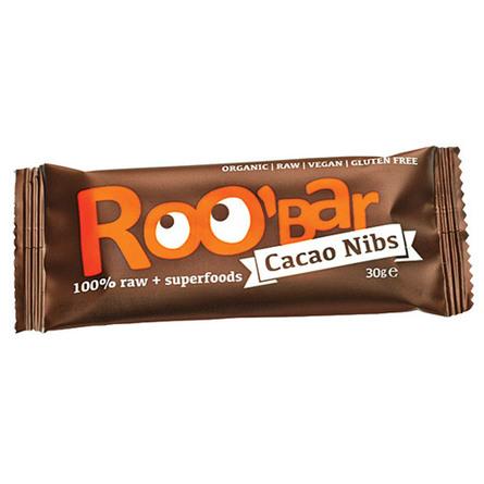 ROO'bar Roobar Cacao Nibs 30 g - øko