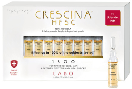 Crescina HFSC 100% 1300 man 20*3,5 ml