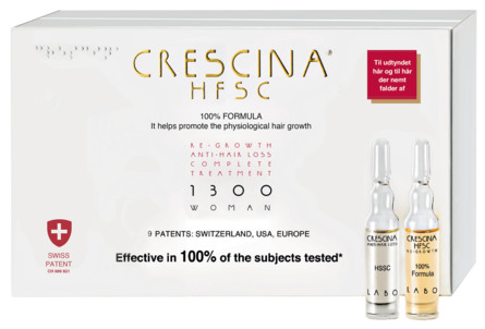Crescina HFSC 100% Complete 1300 woman 10+10*3,5 m