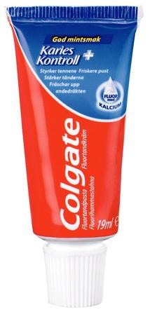 Colgate Tandpasta Karies Kontrol rejsestr. 19 ml