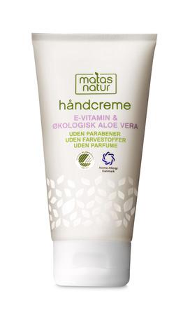 Matas Natur Aloe Vera & E-vitamin Håndcreme 80 ml