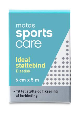Matas Sports Care Ideal Støttebind 6 cm x 5 m