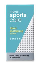 Matas Sports Care Matas SportsCare Ideal støttebind 8cm x 5 m