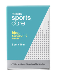 Matas Sports Care Matas SportsCare Ideal støttebind 8cm x 10 m