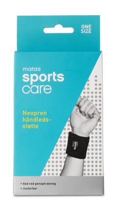 Matas Sports Care Neopren Håndledsstøtte One Size
