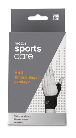 Matas Sports Care PRO Tommelfingerbandage One Size