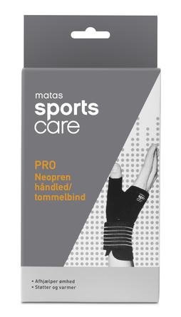 Matas Sports Care PRO Neopren Håndled/Tommelbind str. S