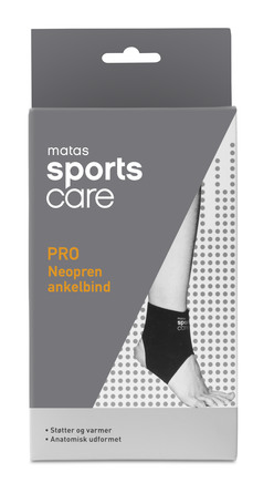 Matas Sports Care PRO Neopren Ankelbind str. S