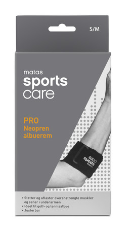 Matas Sports Care PRO Neopren Albuerem str. S/M