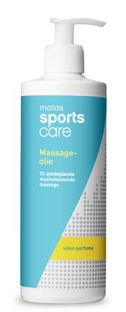 Matas Sports Care Massageolie uden Parfume 500 ml