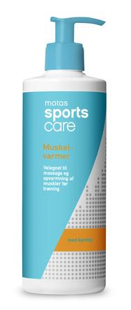 Matas Sports Care Muskelvarmer med Kamfer 500 ml