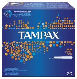 Tampax Super Plus 20 stk.
