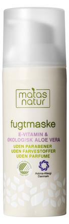 Matas Natur Aloe Vera & E-vitamin Fugtmaske