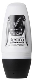 Rexona Men Deo Roll-on Invisible Black+ White 50 m